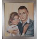 Portret na zamówienie Format 40 x 50
