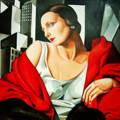 Portret Pani Boucard